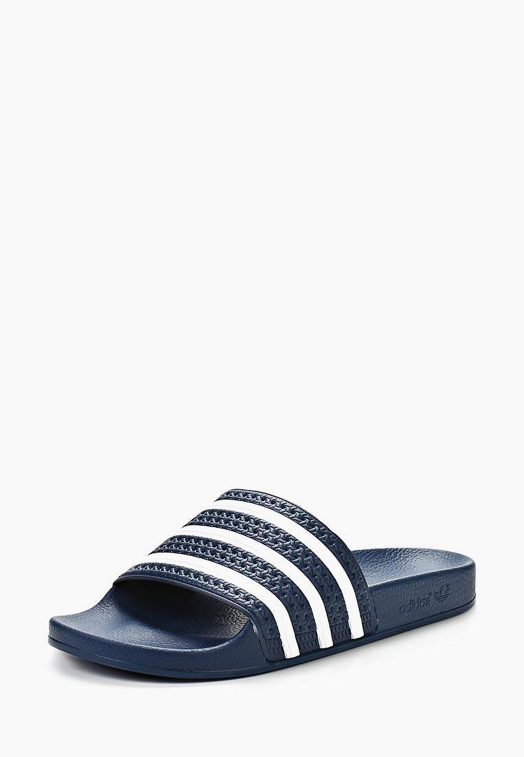 Мужская резиновая обувь Adidas Originals (Адидас Ориджиналс) 288022: изображение 1