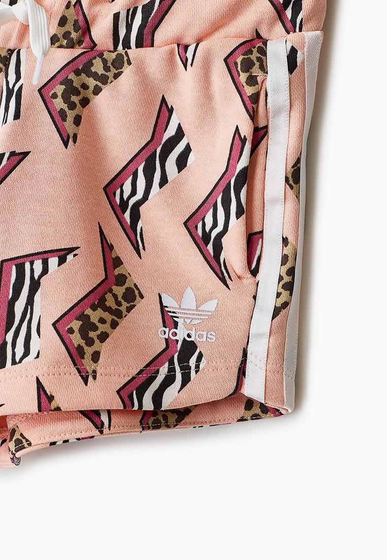 Шорты для девочек Adidas Originals (Адидас Ориджиналс) GN2242: изображение 3