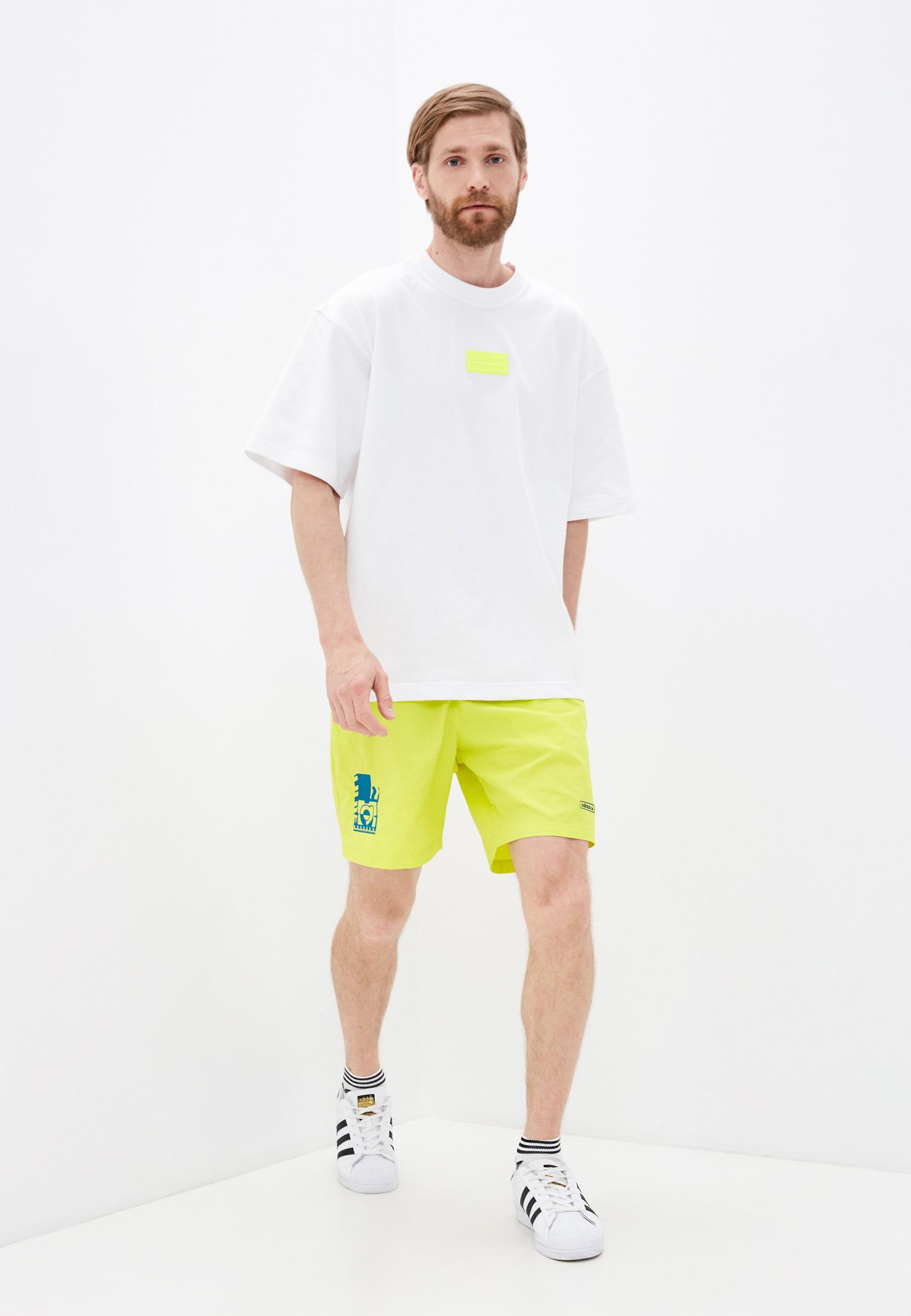 Мужские спортивные шорты Adidas Originals (Адидас Ориджиналс) GN3857: изображение 2