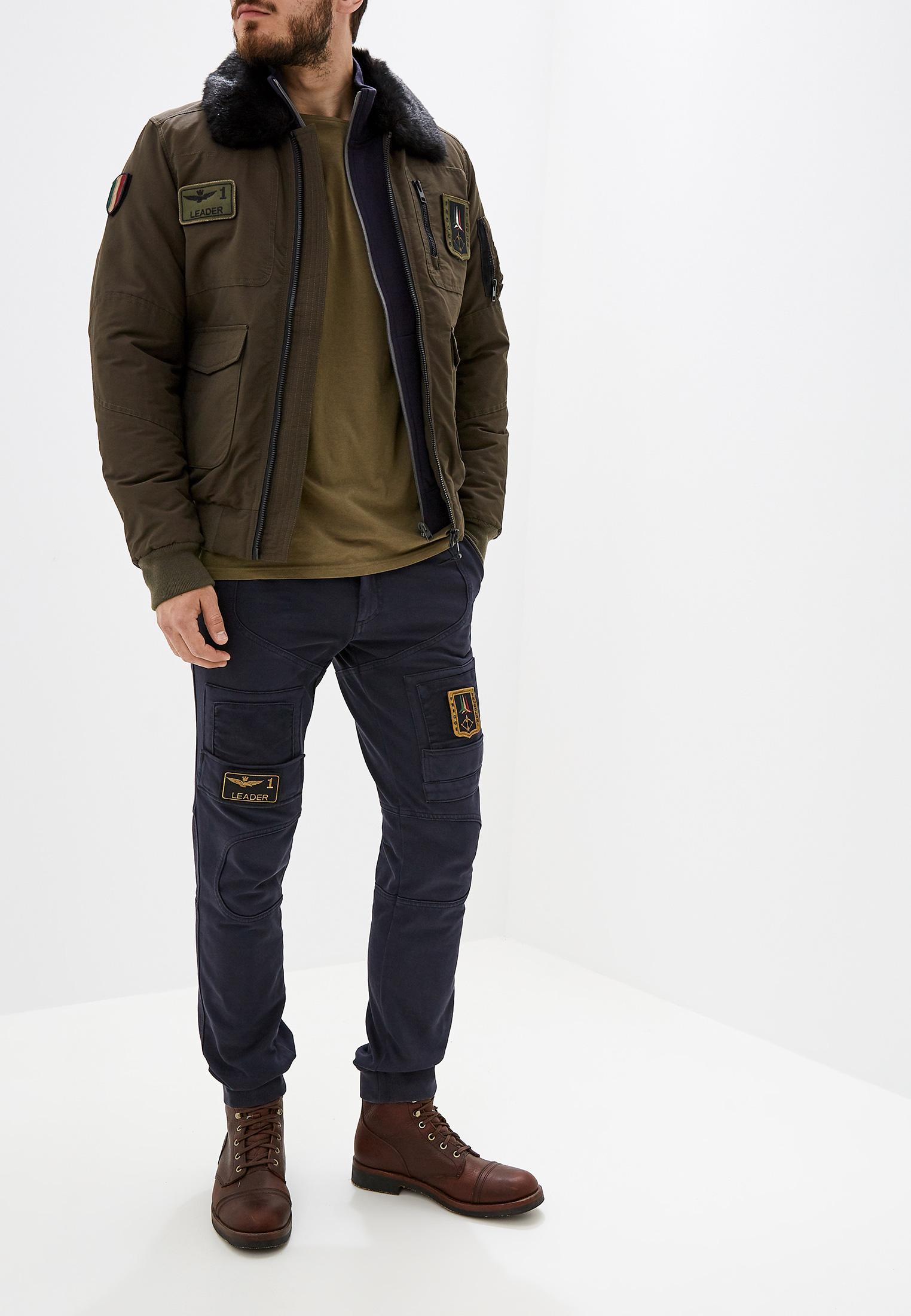Мужские повседневные брюки Aeronautica Militare PF743J217: изображение 2