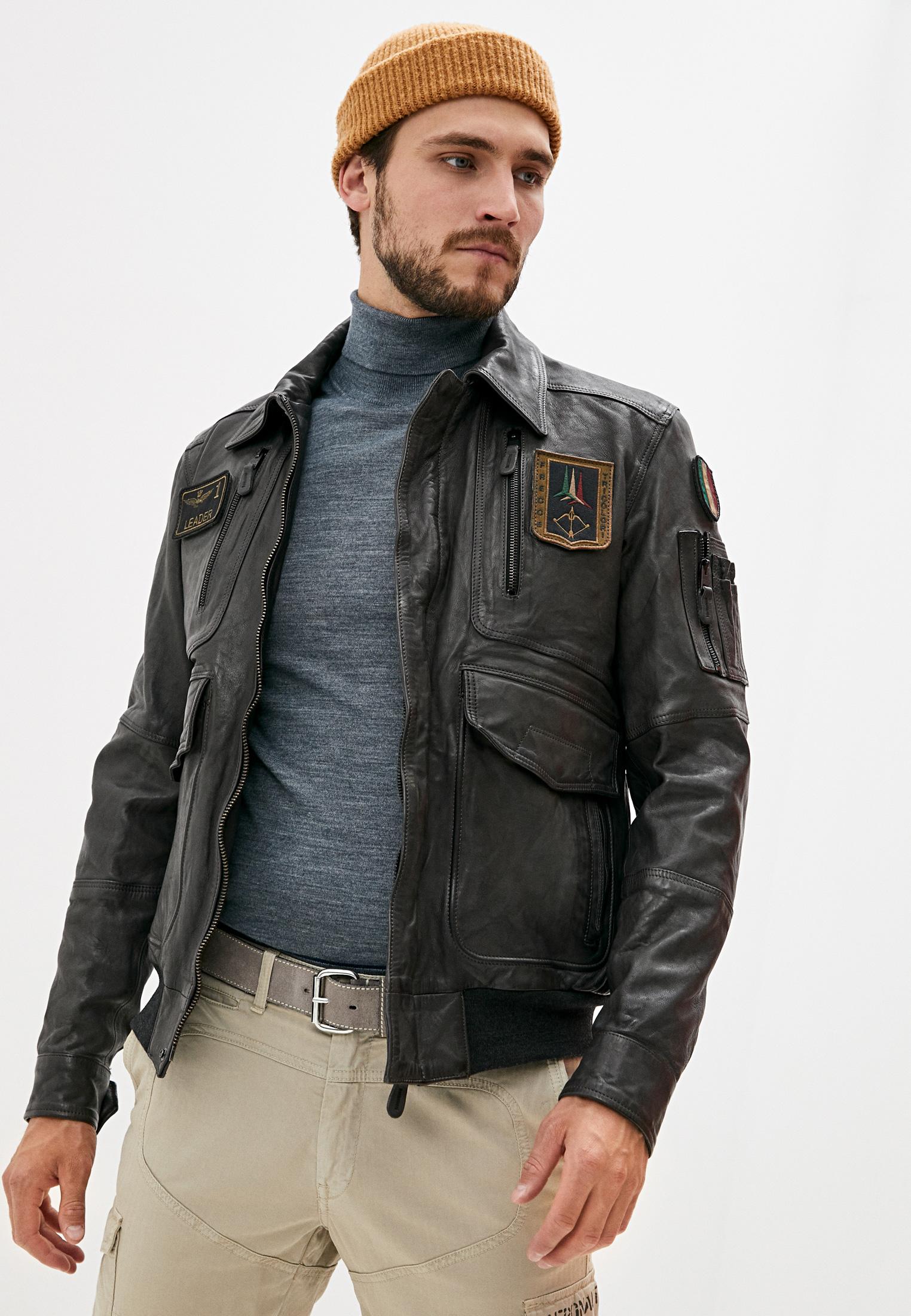 Кожаная куртка Aeronautica Militare PN915PL147