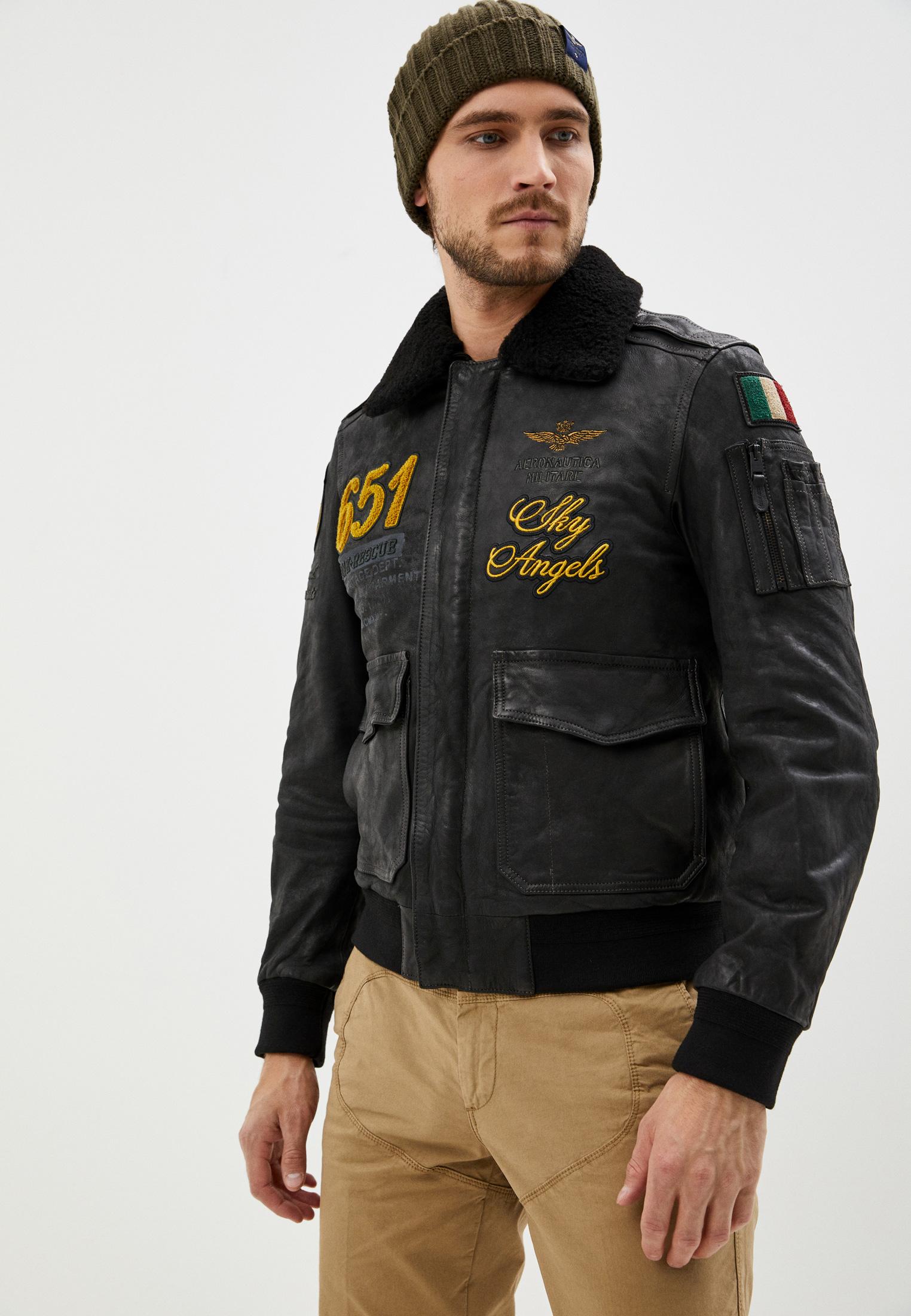 Кожаная куртка Aeronautica Militare PN917PL148