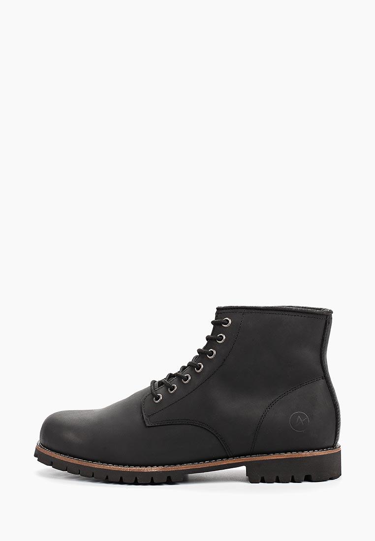 Мужские ботинки Affex 119-MOW-BLK-M