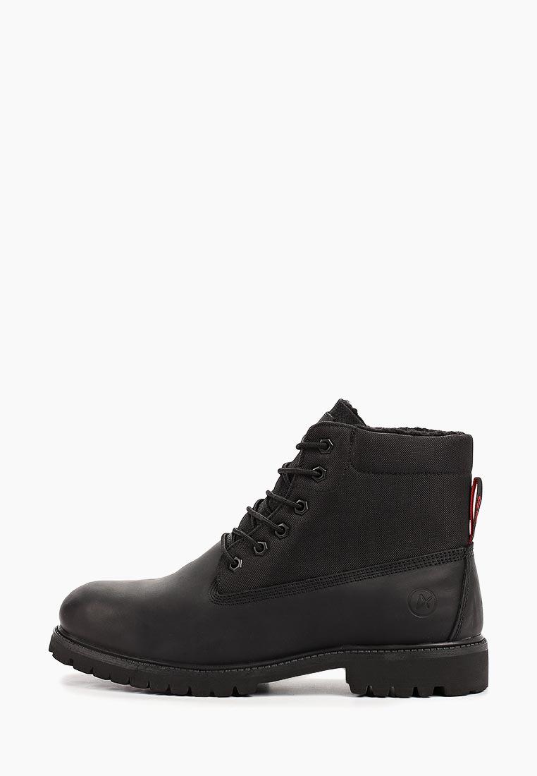 Мужские ботинки Affex 121-NJS-BLK-M