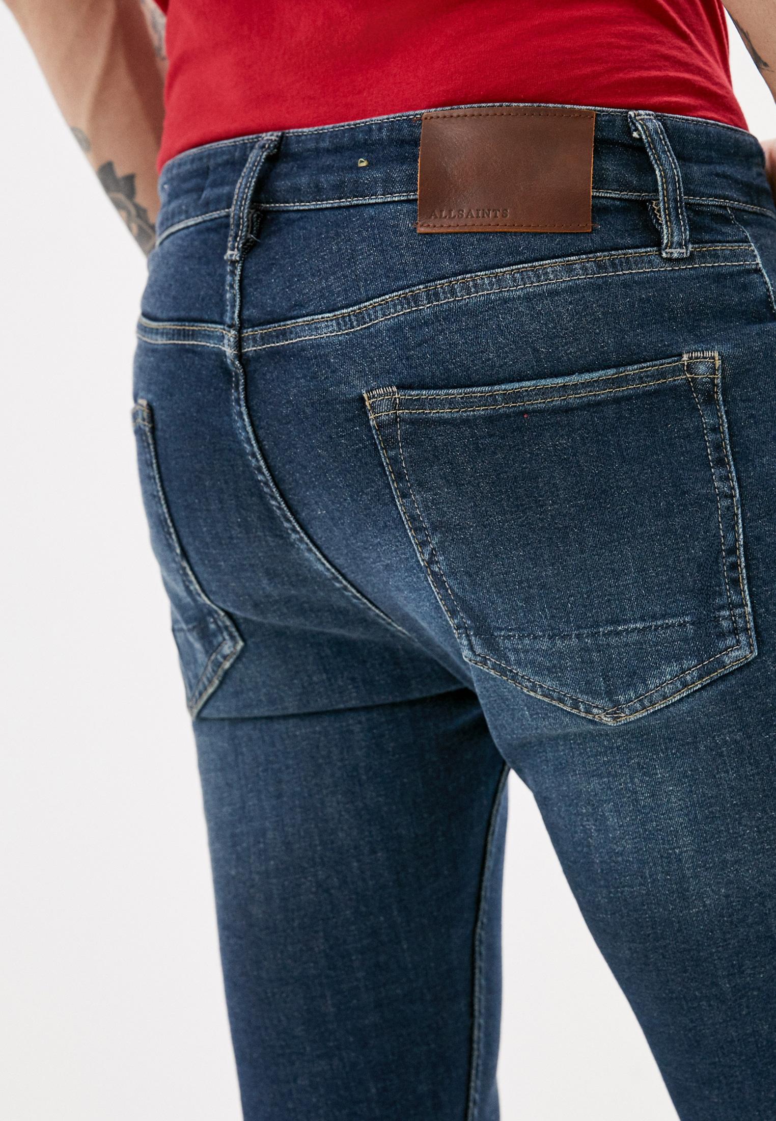 Зауженные джинсы AllSaints ME022P: изображение 4