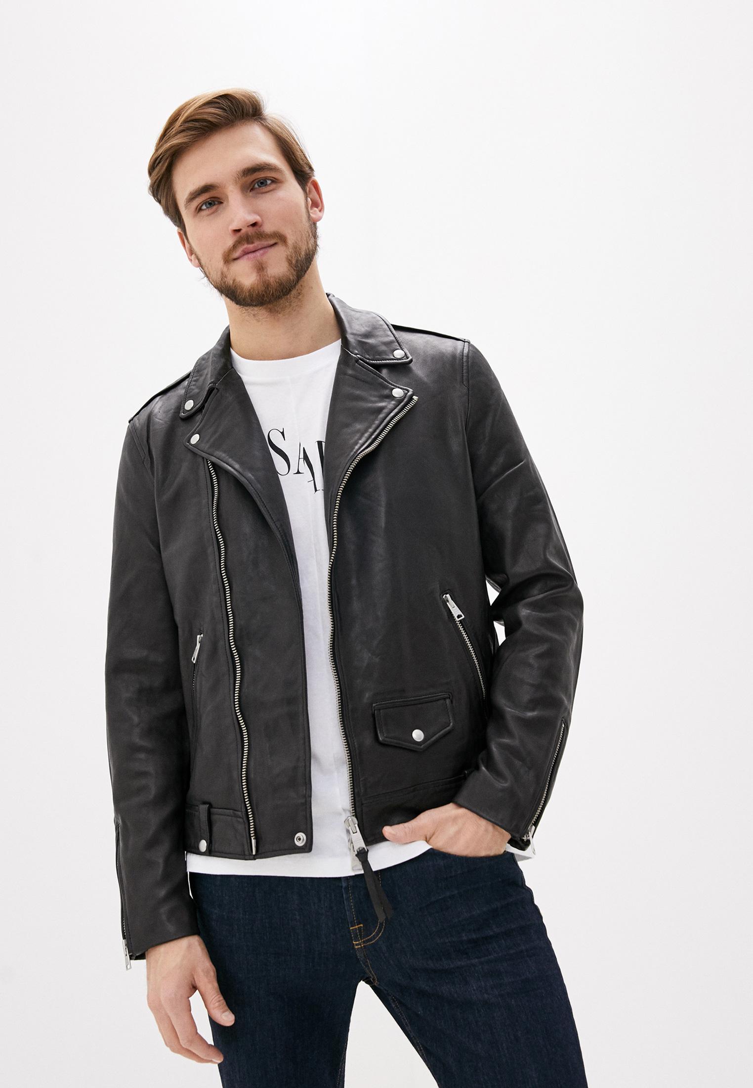 Кожаная куртка AllSaints ML025N: изображение 1