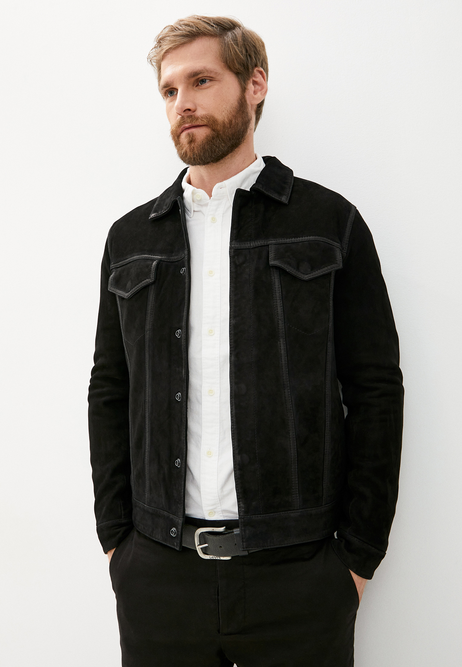 Кожаная куртка AllSaints ML040S