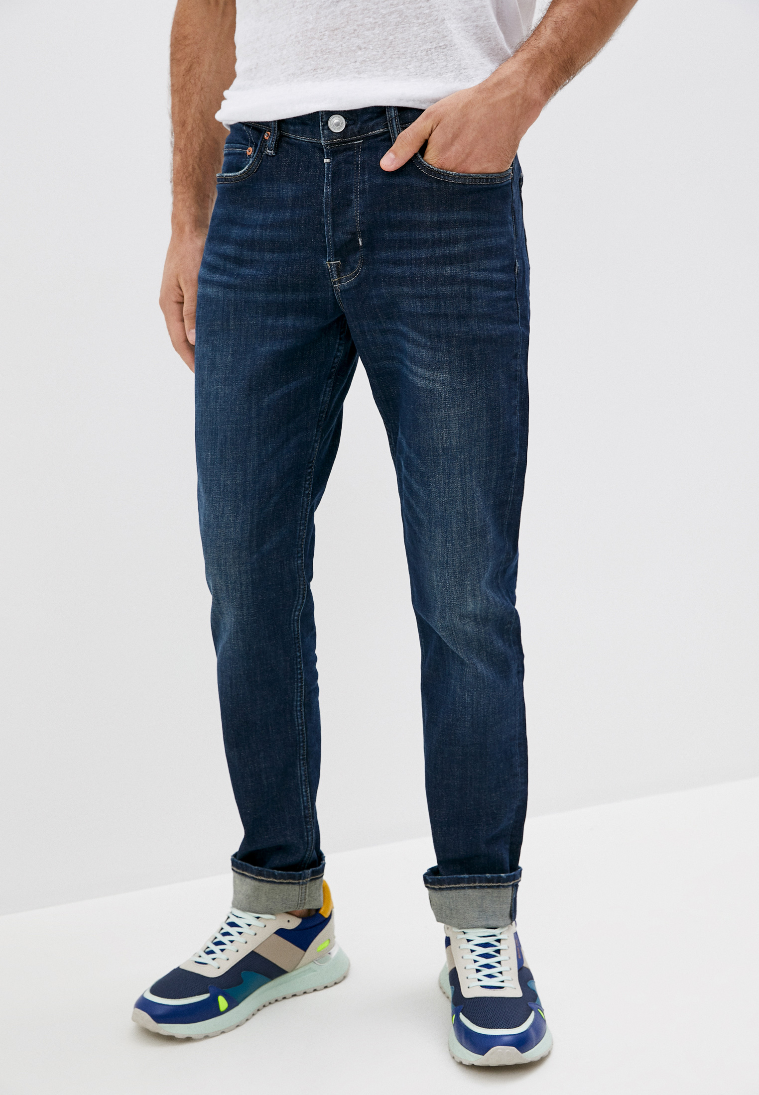 Зауженные джинсы AllSaints ME029P