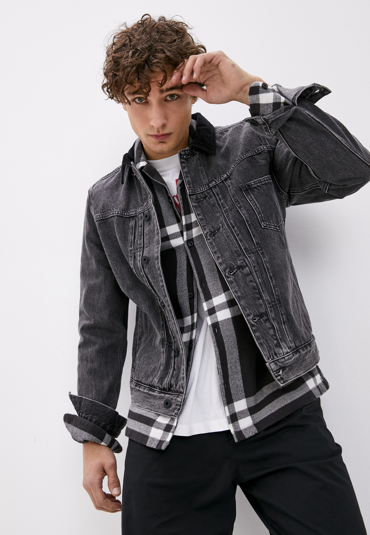 Джинсовая куртка AllSaints MA009T