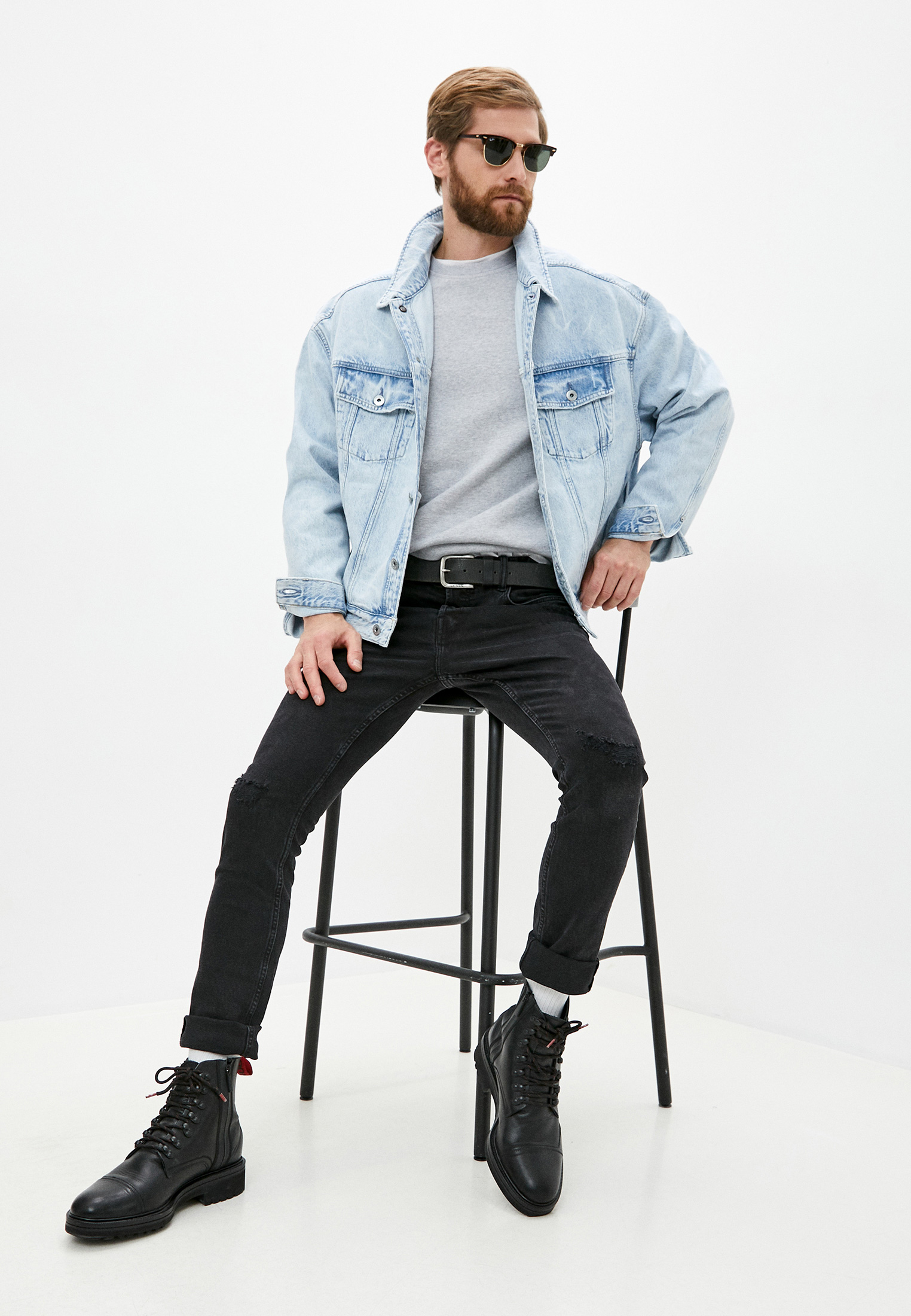 Джинсовая куртка AllSaints MA009S: изображение 3