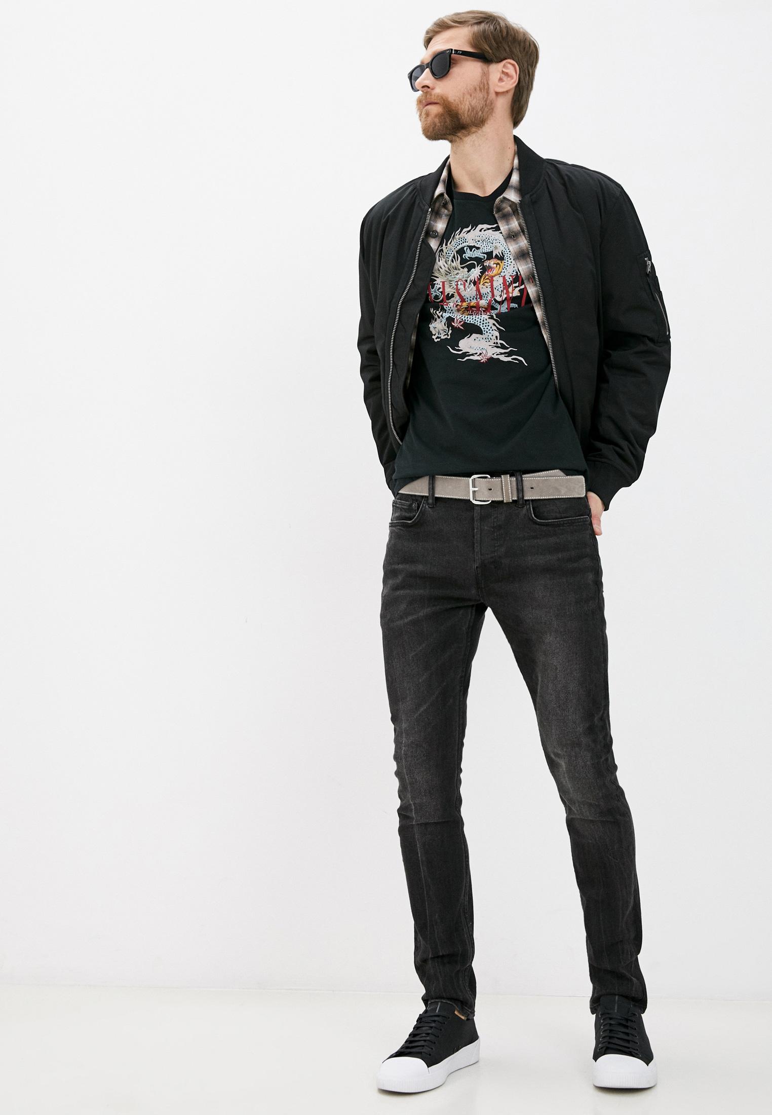 Зауженные джинсы AllSaints ME039T: изображение 3