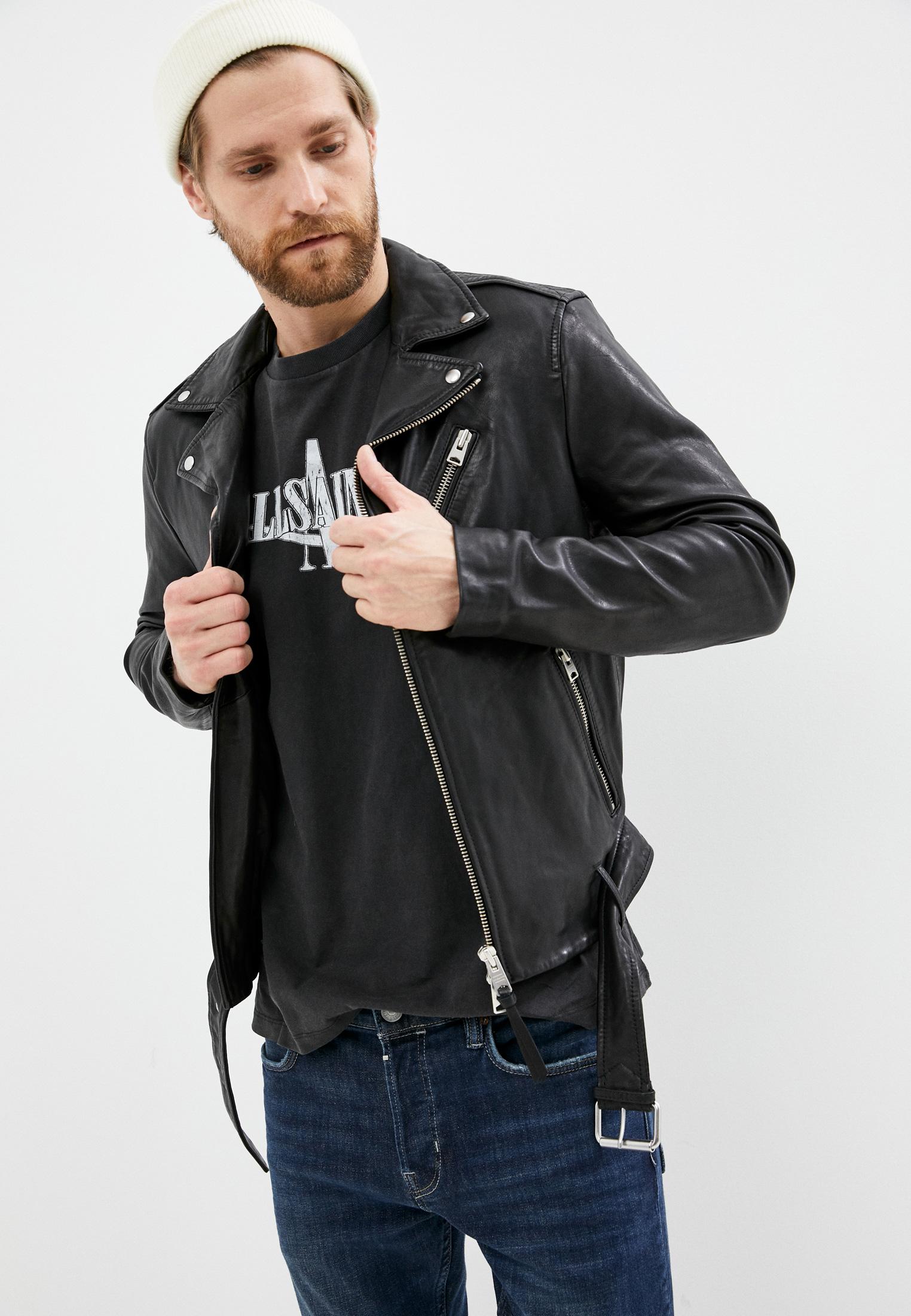Кожаная куртка AllSaints ML011R