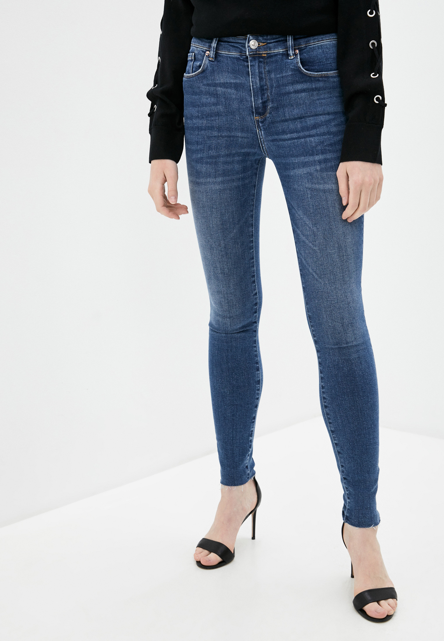 Зауженные джинсы AllSaints WE116S: изображение 1