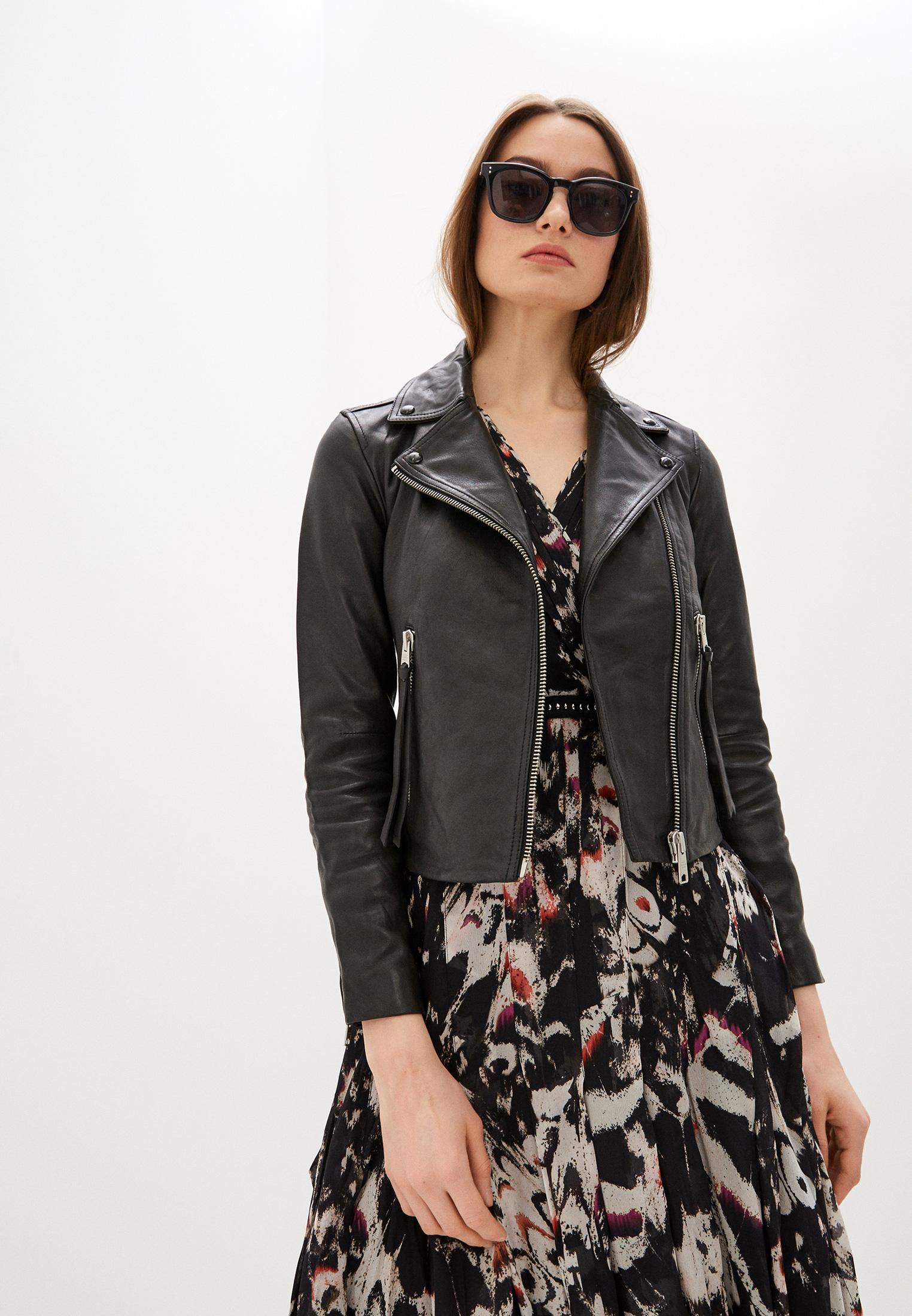 Кожаная куртка AllSaints WL004N: изображение 1