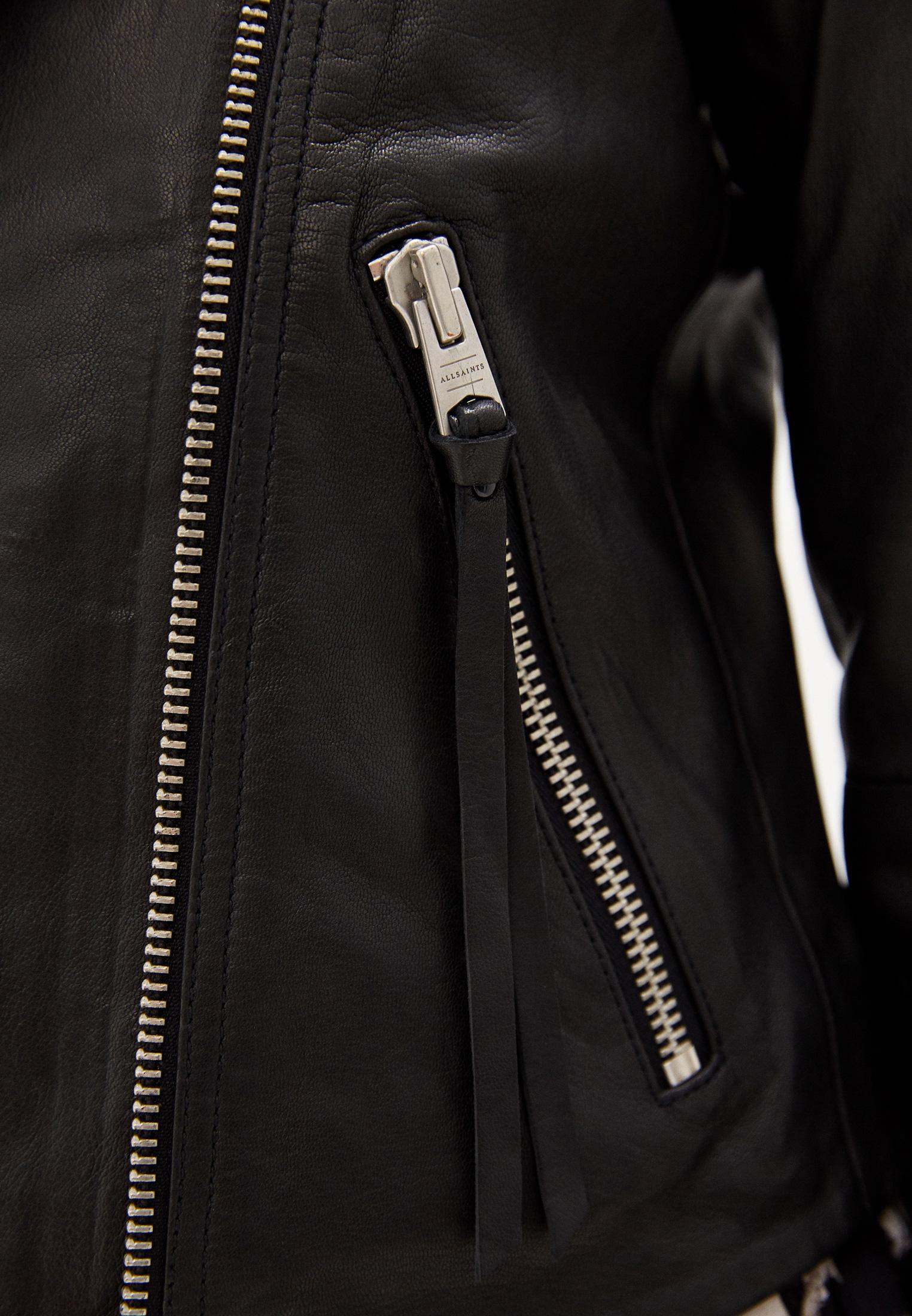 Кожаная куртка AllSaints WL004N: изображение 5