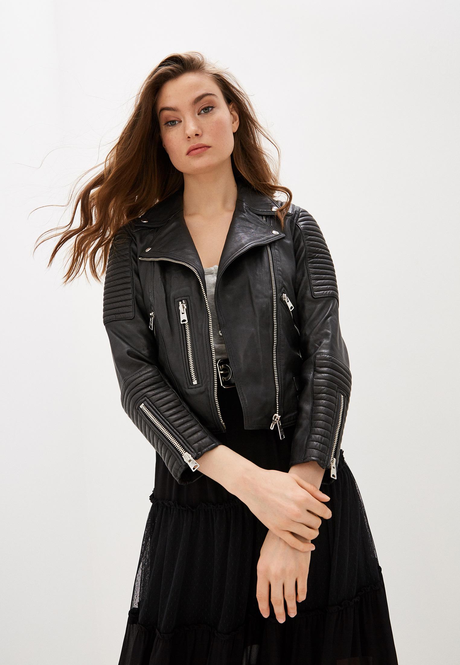 Кожаная куртка AllSaints WL078P