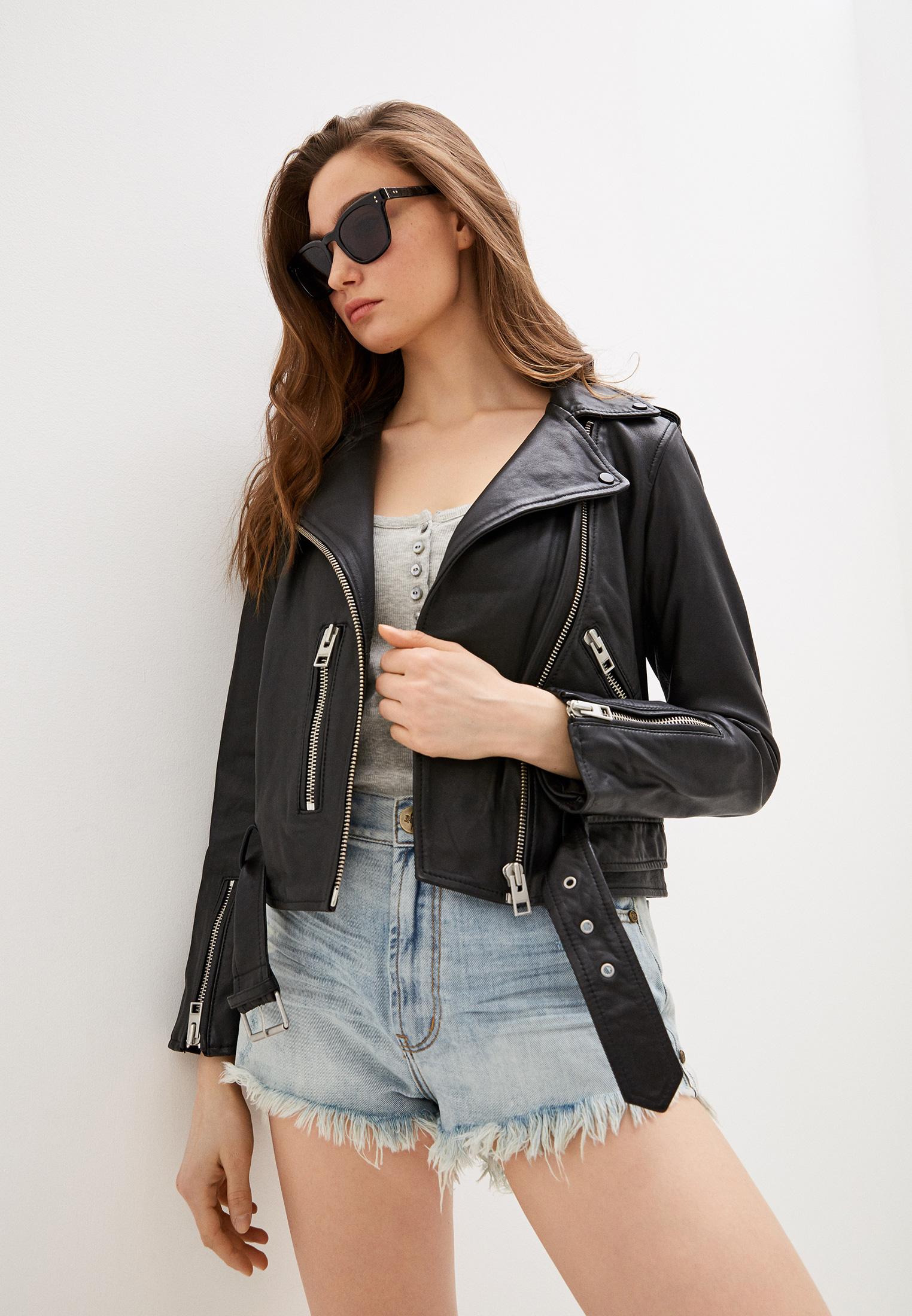 Кожаная куртка AllSaints WL115E: изображение 1