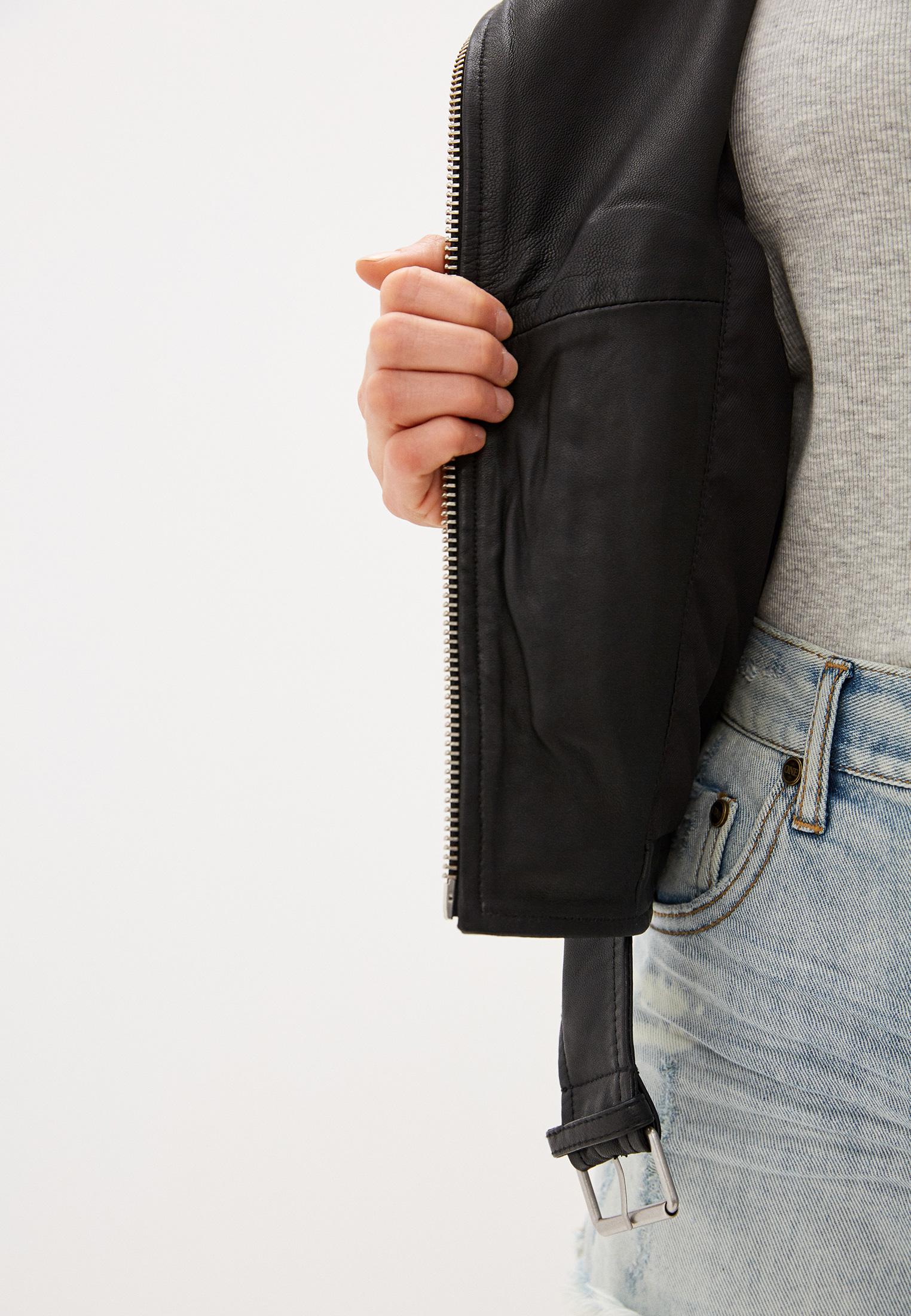 Кожаная куртка AllSaints WL115E: изображение 4