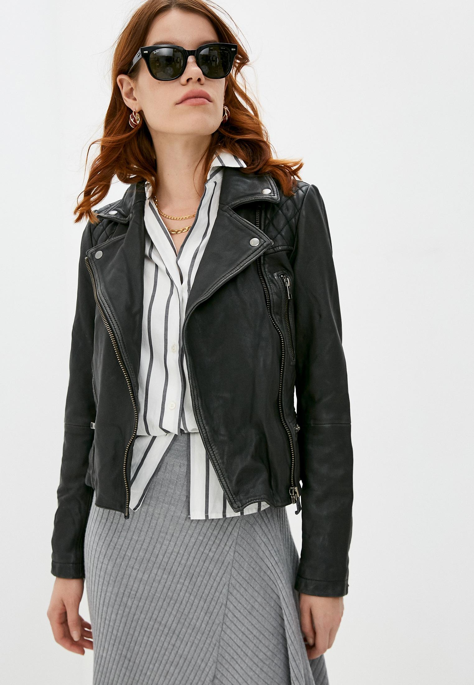 Кожаная куртка AllSaints WL047C: изображение 1