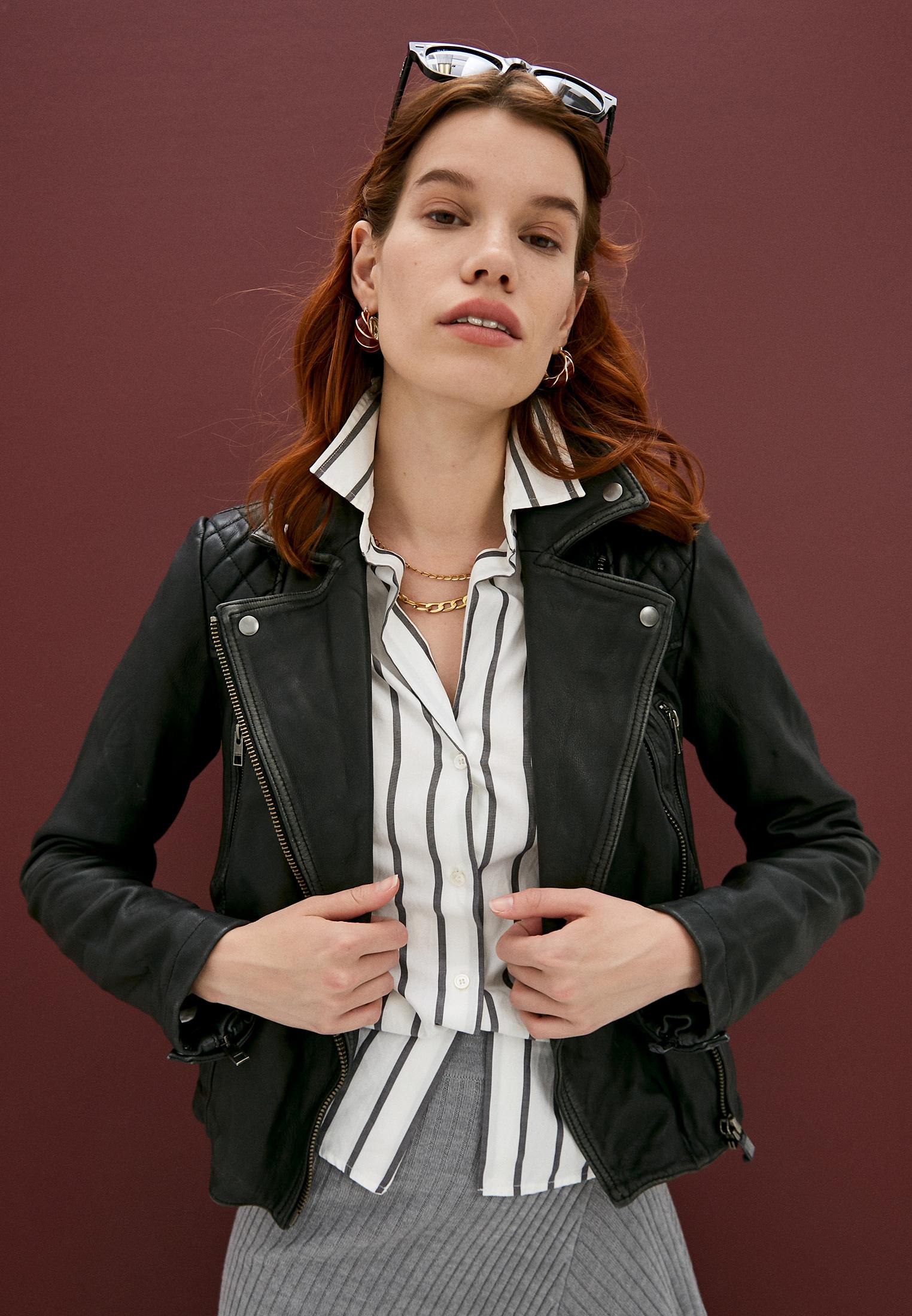 Кожаная куртка AllSaints WL047C: изображение 2