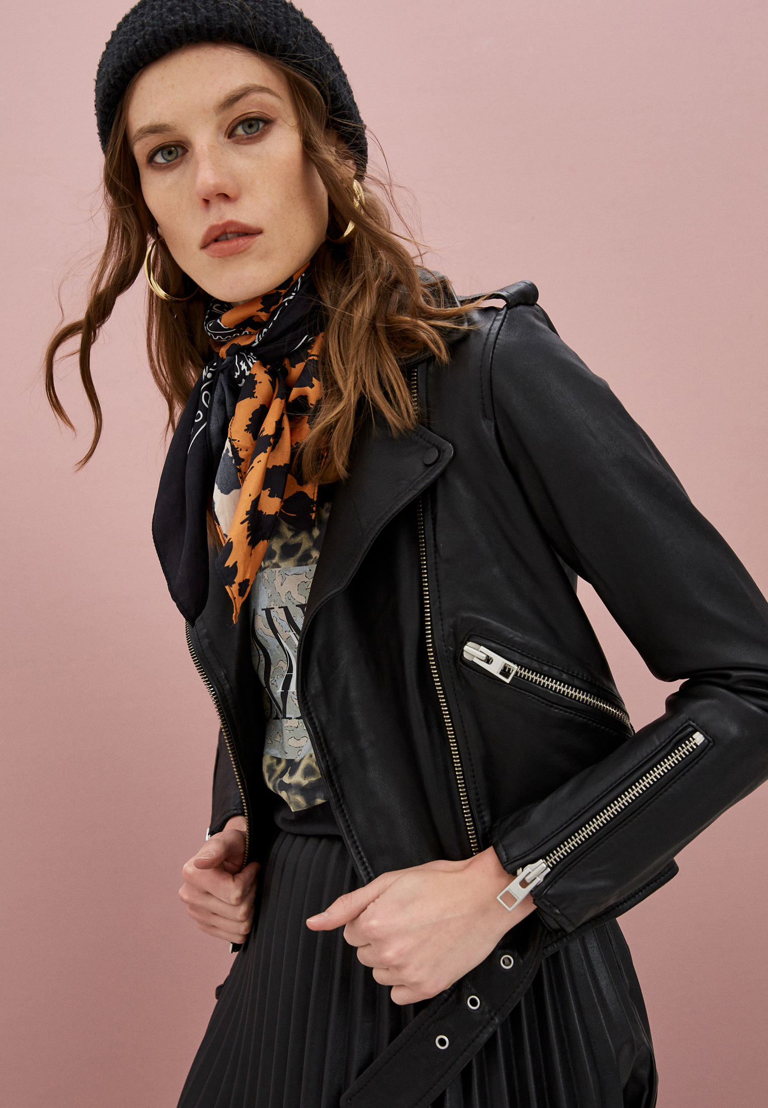 Кожаная куртка AllSaints WL115E: изображение 7
