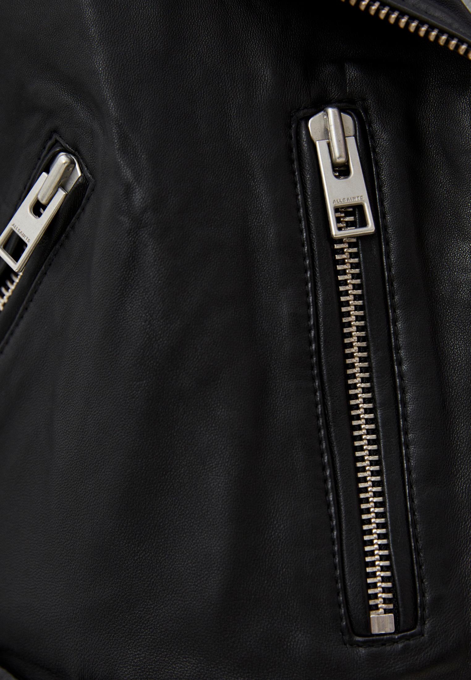 Кожаная куртка AllSaints WL115E: изображение 10