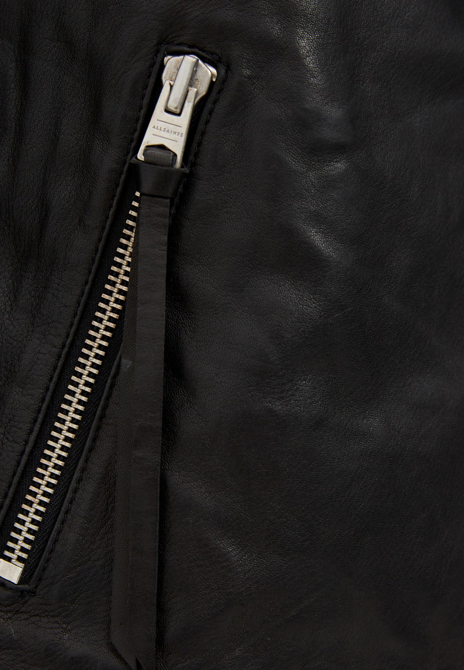 Кожаная куртка AllSaints WL004N: изображение 10