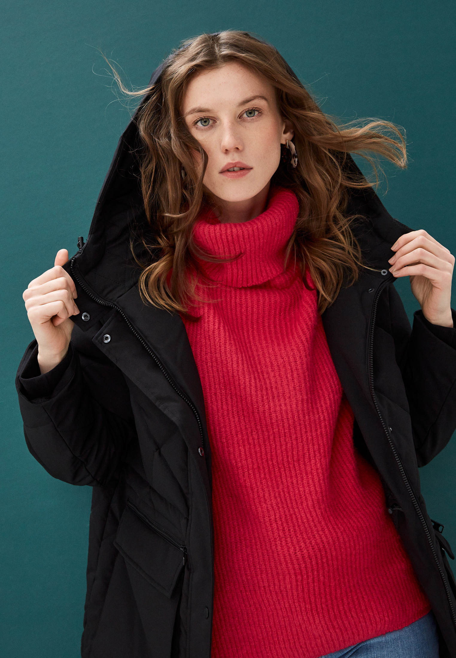Утепленная куртка AllSaints WO119T: изображение 2