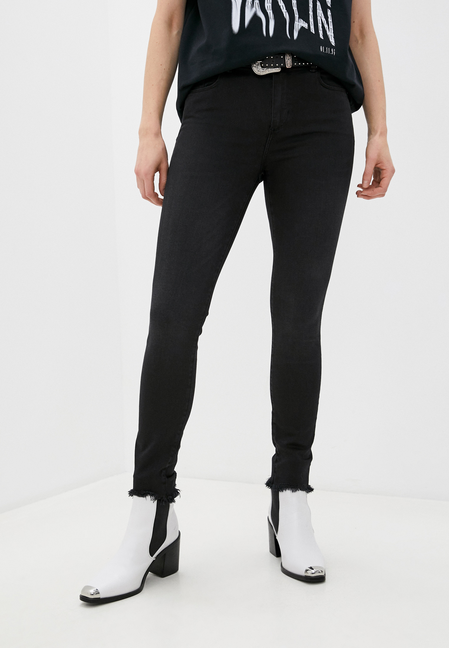 Зауженные джинсы AllSaints WE339S: изображение 6