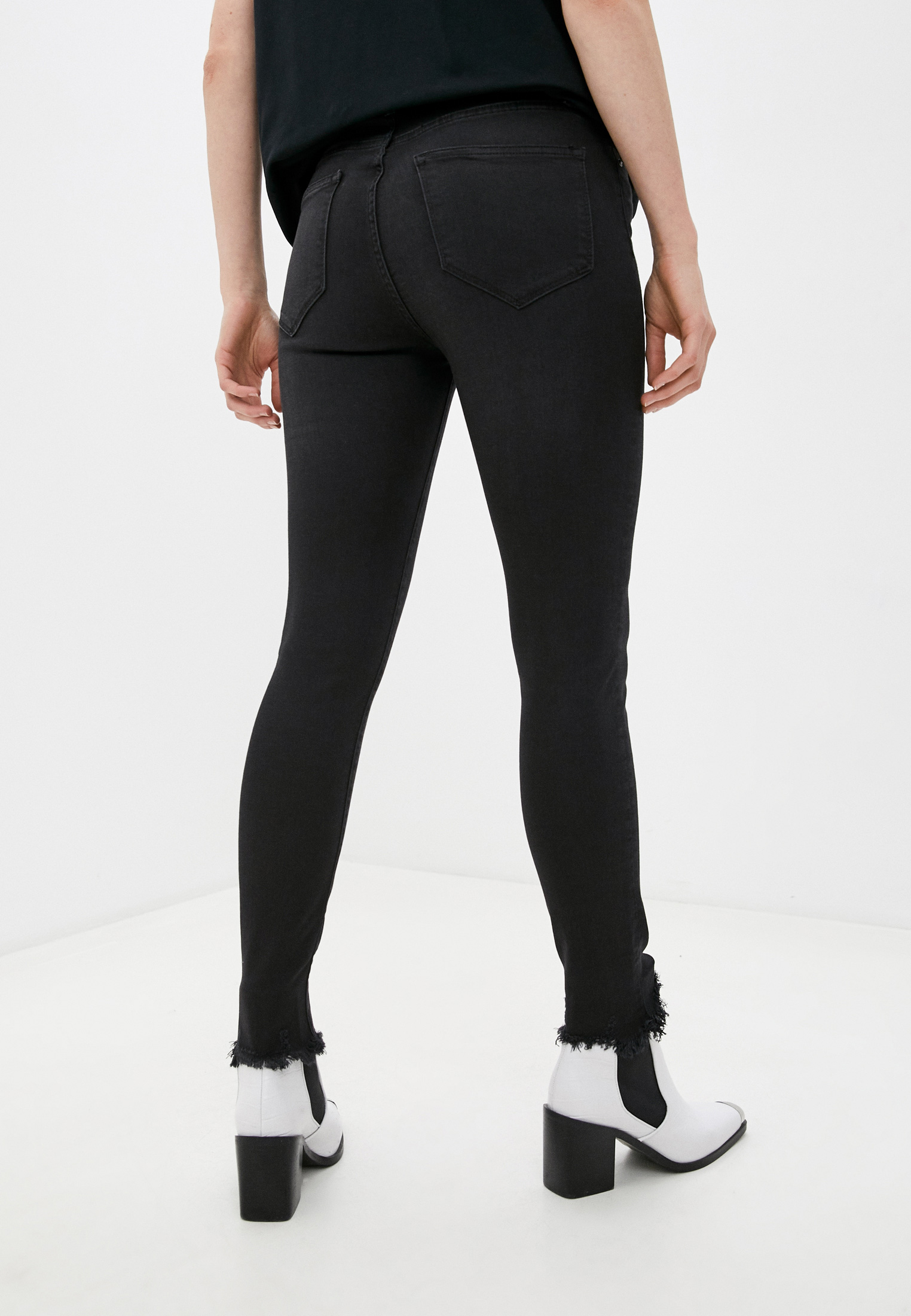 Зауженные джинсы AllSaints WE339S: изображение 9