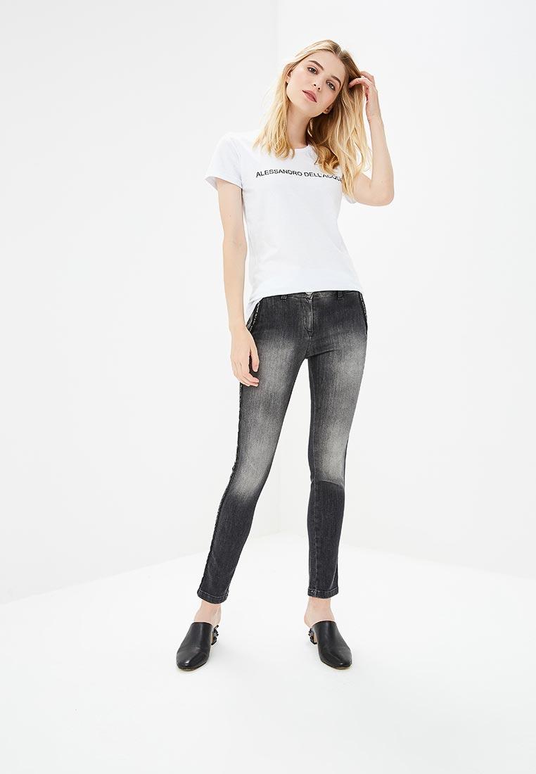 Зауженные джинсы Alessandro Dell`acqua ADW7115WJN: изображение 2