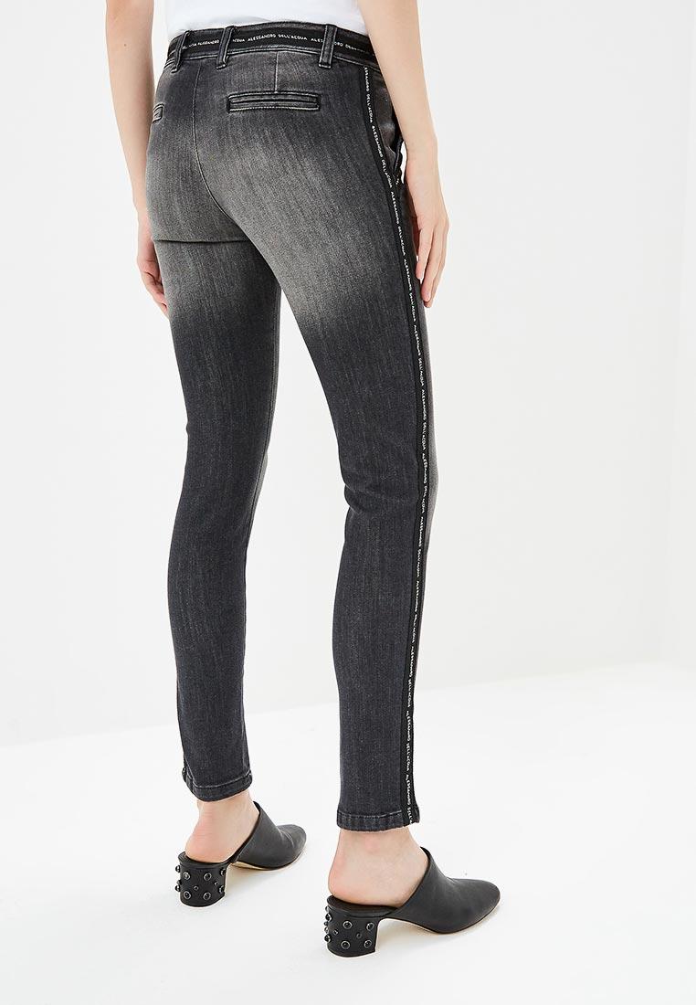 Зауженные джинсы Alessandro Dell`acqua ADW7115WJN: изображение 3
