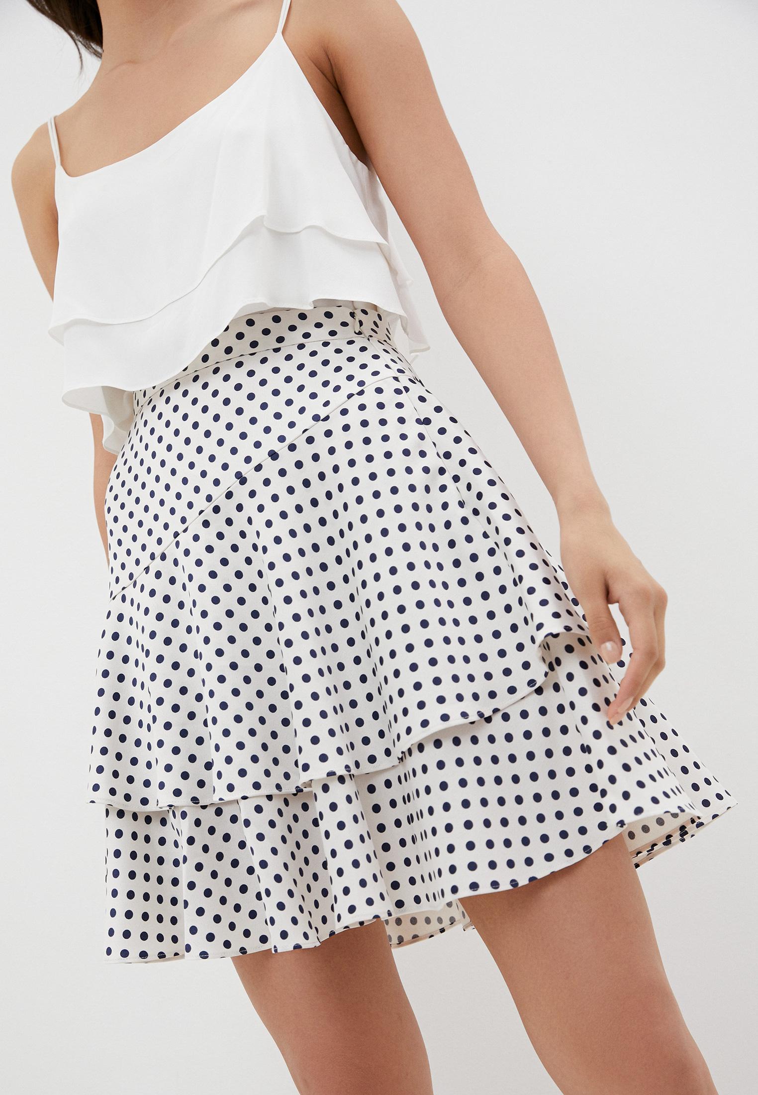 Широкая юбка AlexaChung SK05-PL652