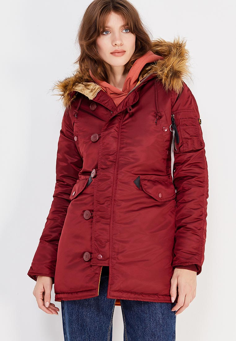Утепленная куртка Alpha Industries (Альфа Индастриз) 113007
