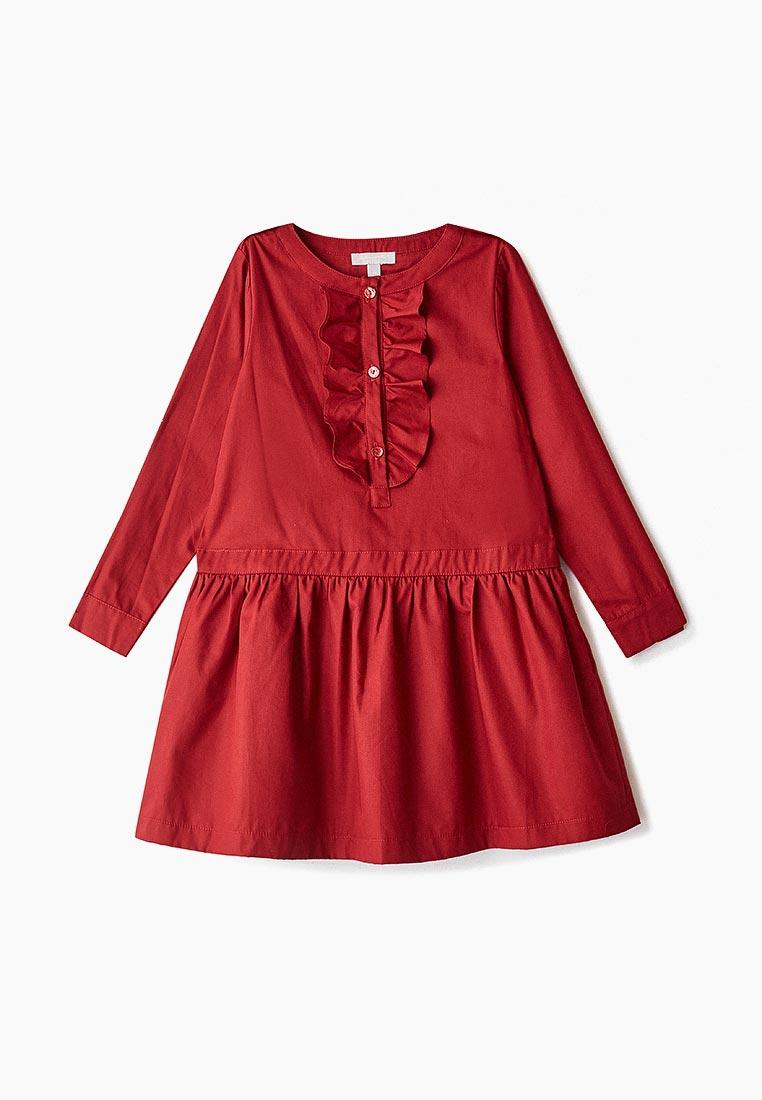 Повседневное платье Amore di Mamma CFW17-DRS100-navy-burnt-red-12a