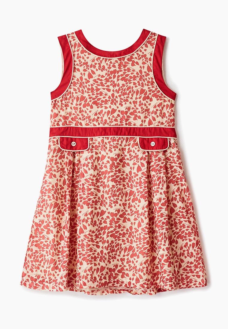 Повседневное платье Amore di Mamma CSS17-DRS102-amoreprint-red-14