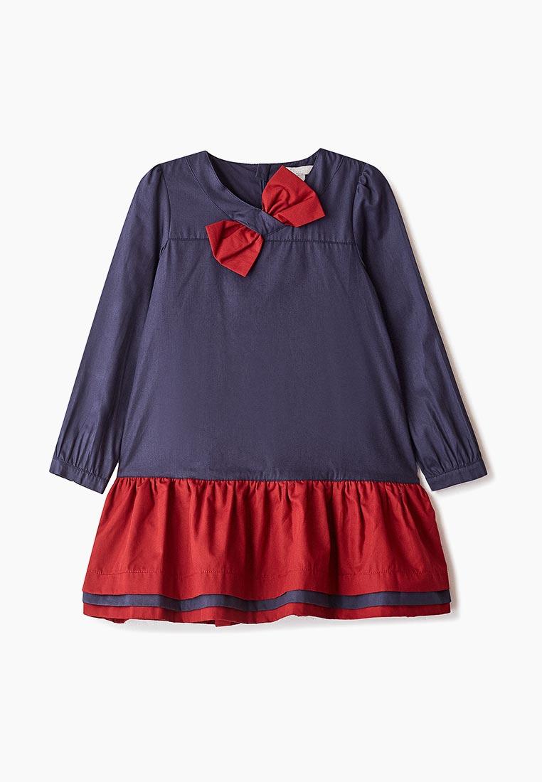 Повседневное платье Amore di Mamma CFW17-DRS101-navy-burnt-red-14