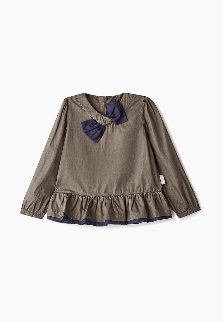 Рубашка Amore di Mamma CFW17-SHTG101-khaki-navy-20