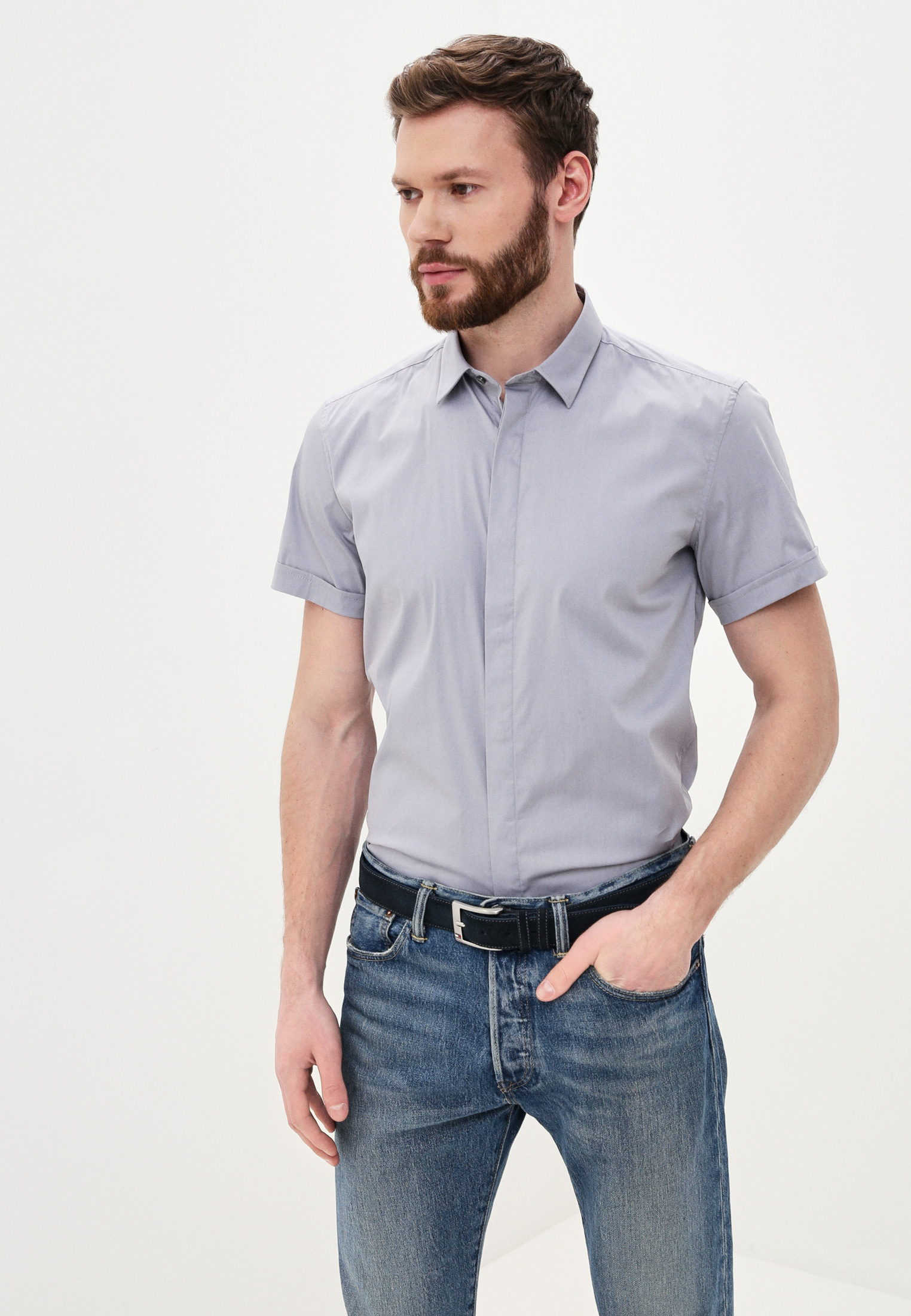 Рубашка с длинным рукавом Antony Morato MMSS00035-FA450001-9015