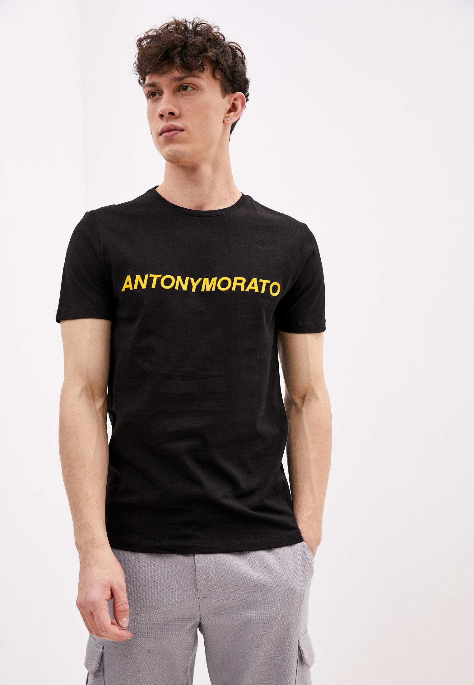 Футболка с коротким рукавом Antony Morato MMKS01408-FA100144-9000: изображение 1