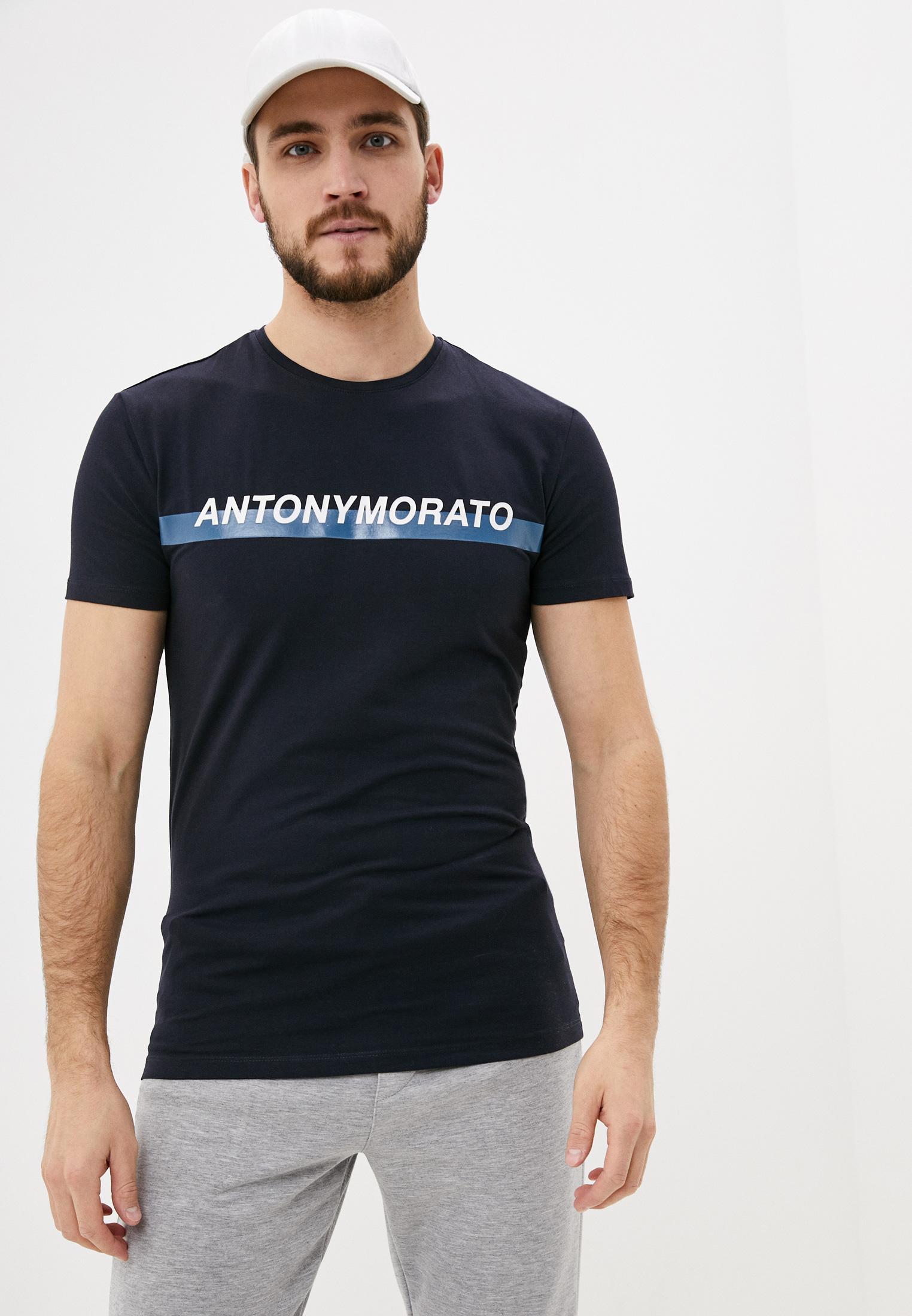 Футболка с коротким рукавом Antony Morato (Антони Морато) MMKS01415-FA120001-7068