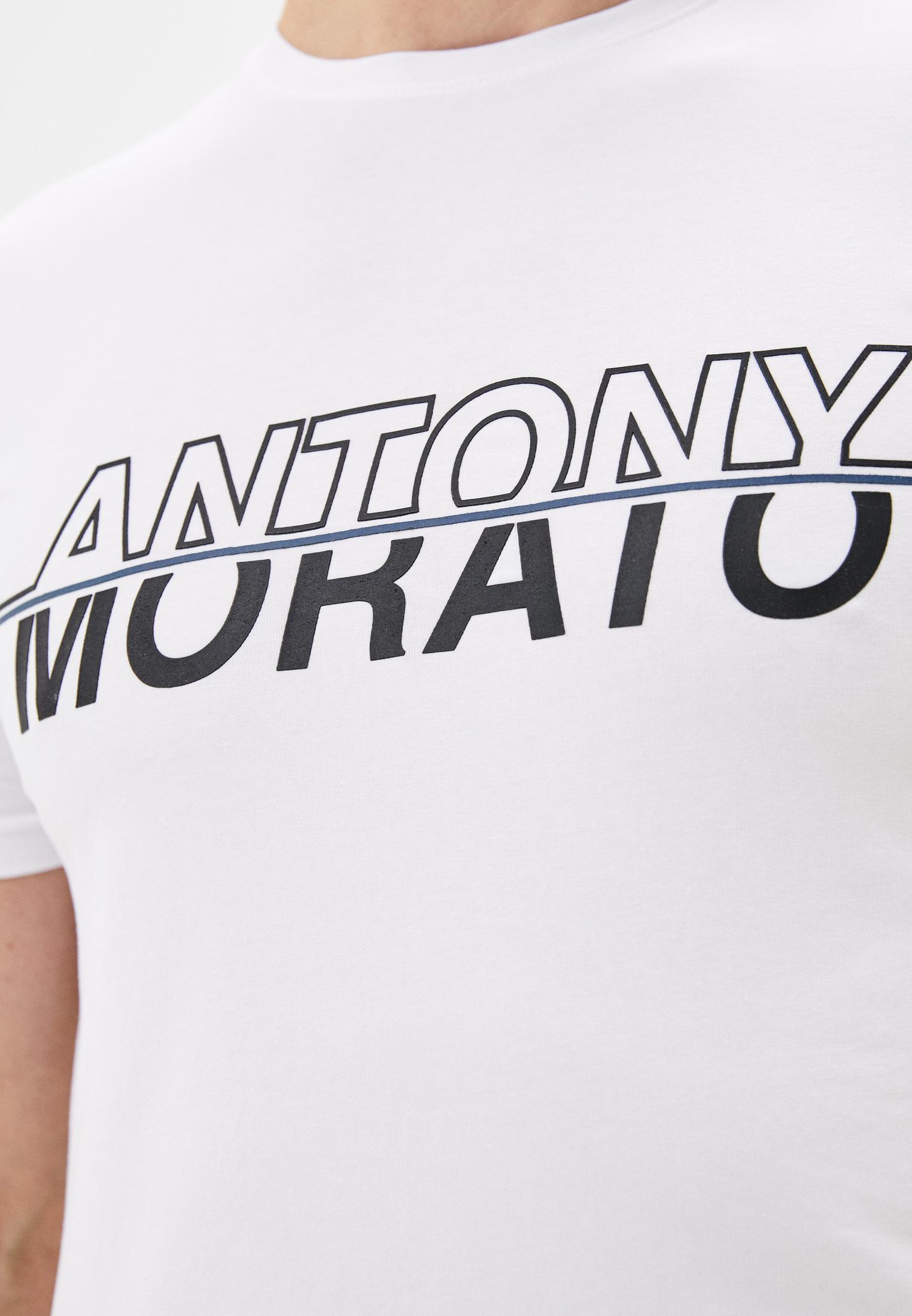 Футболка с коротким рукавом Antony Morato MMKS01610-FA120001-1000: изображение 3