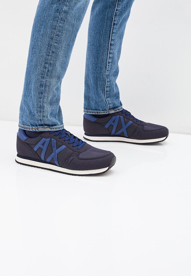 Мужские кроссовки Armani Exchange xux017 xv028