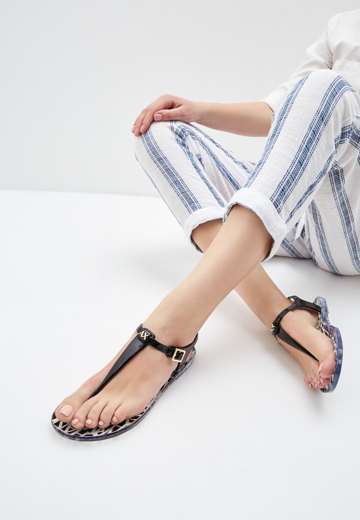 Женские сандалии Armani Exchange XDQ005 XV306: изображение 6