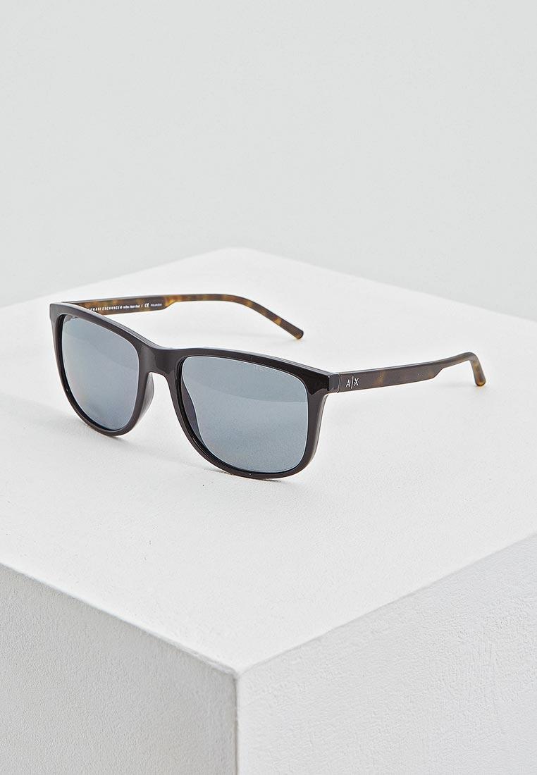 Мужские солнцезащитные очки Armani Exchange 0AX4070S: изображение 1
