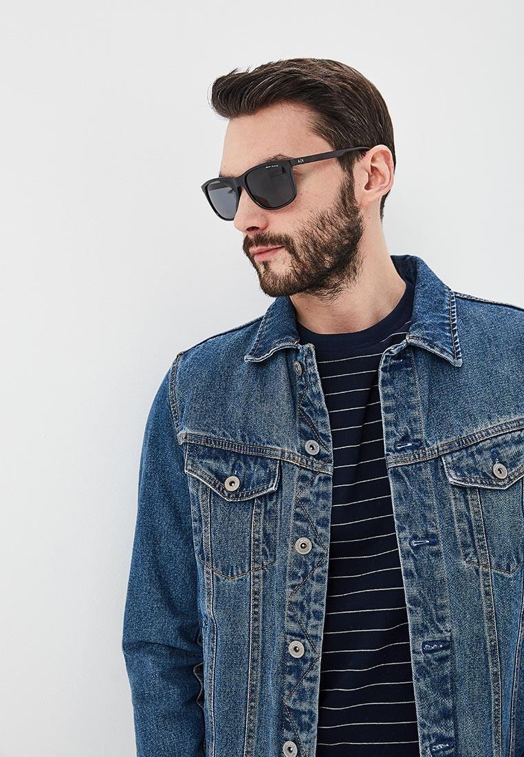 Мужские солнцезащитные очки Armani Exchange 0AX4070S: изображение 6