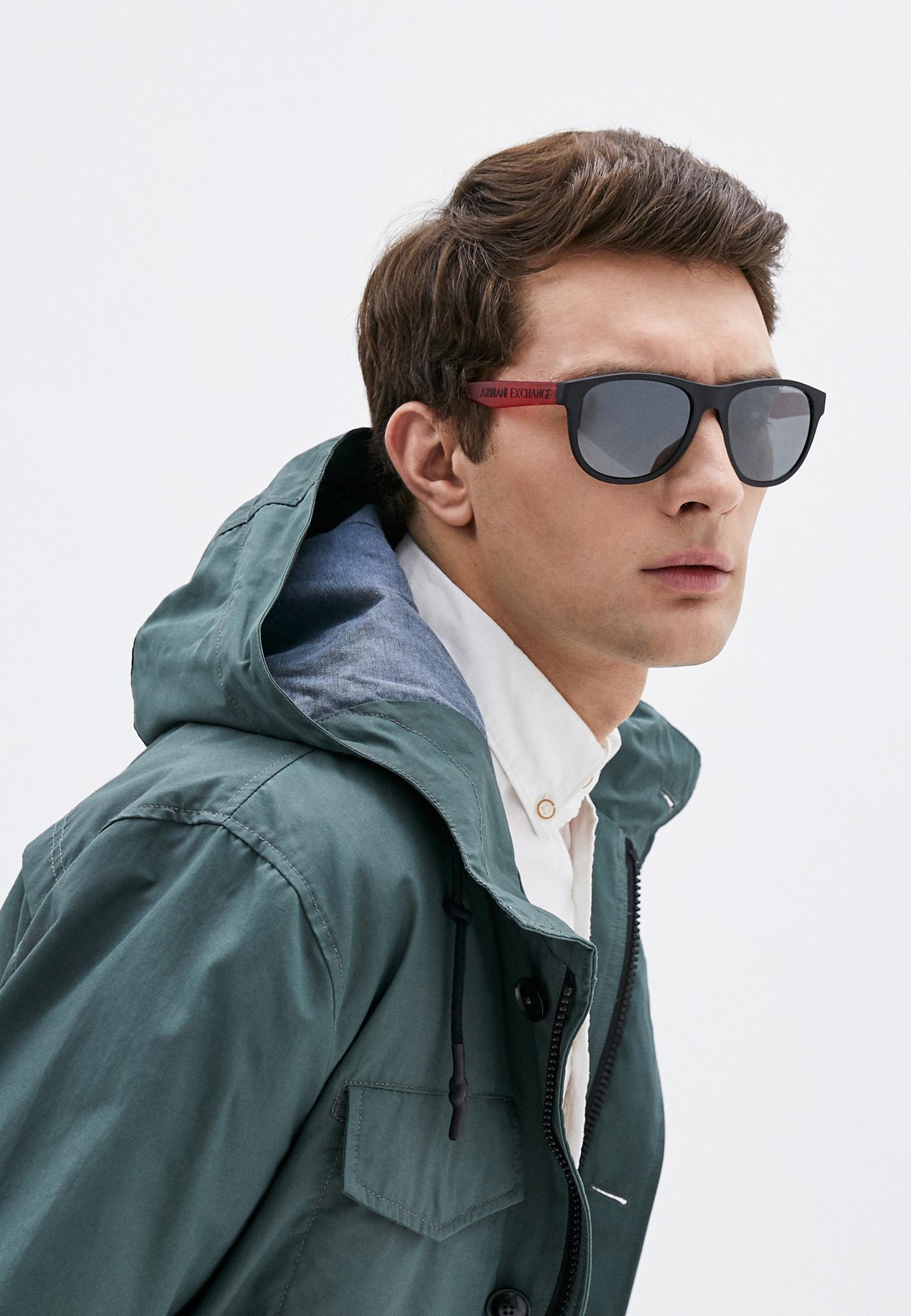 Мужские солнцезащитные очки Armani Exchange 0AX4096S: изображение 6
