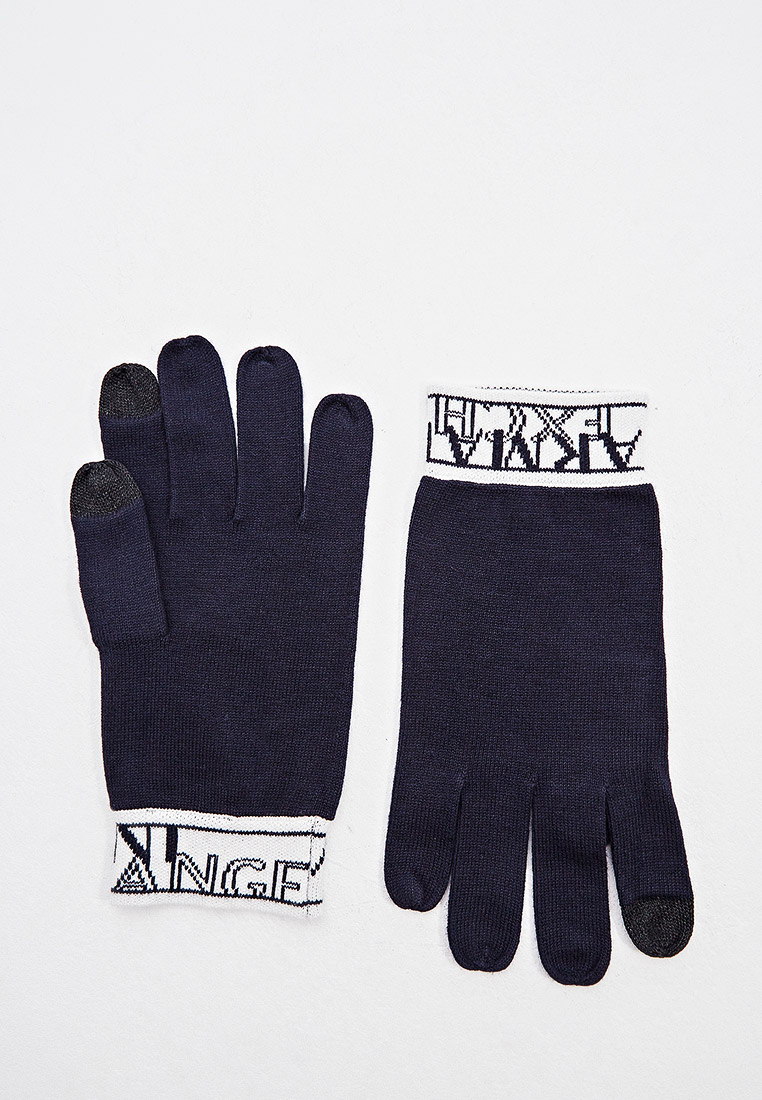Мужские перчатки Armani Exchange 6hz41d ZMN4Z