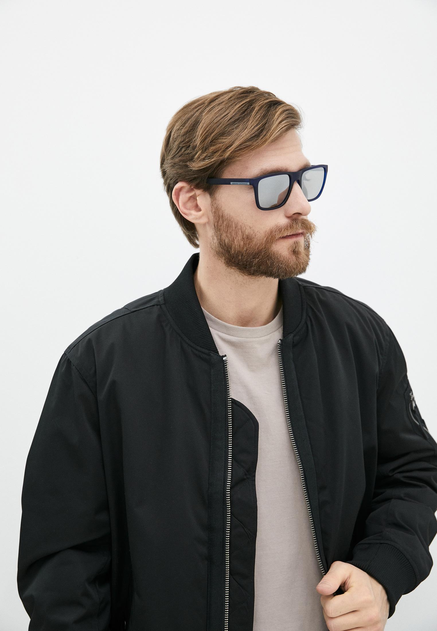 Мужские солнцезащитные очки Armani Exchange 0AX4080S