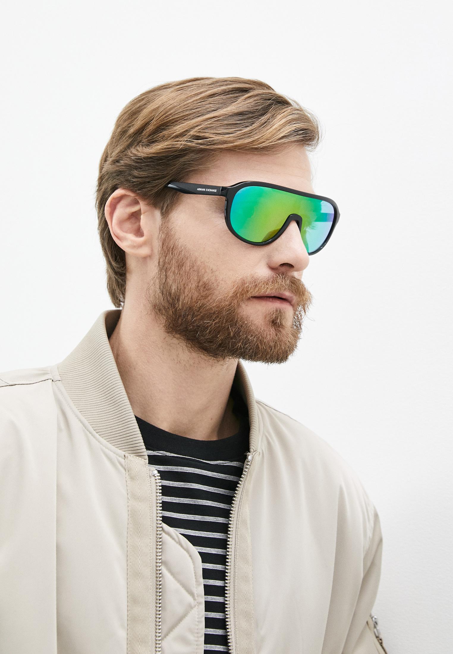 Мужские солнцезащитные очки Armani Exchange Очки солнцезащитные Armani Exchange